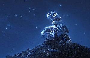 OMEGA CAN A mobile trash compactor inherits the Earth in Pixar's latest animated fantasy.