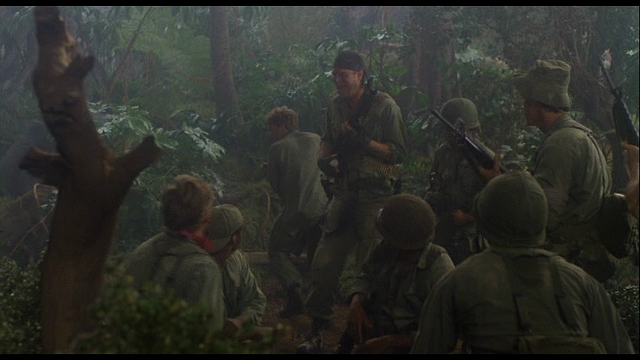 One of the Vietnam flashbacks in House - NEW WORLD PICTURES