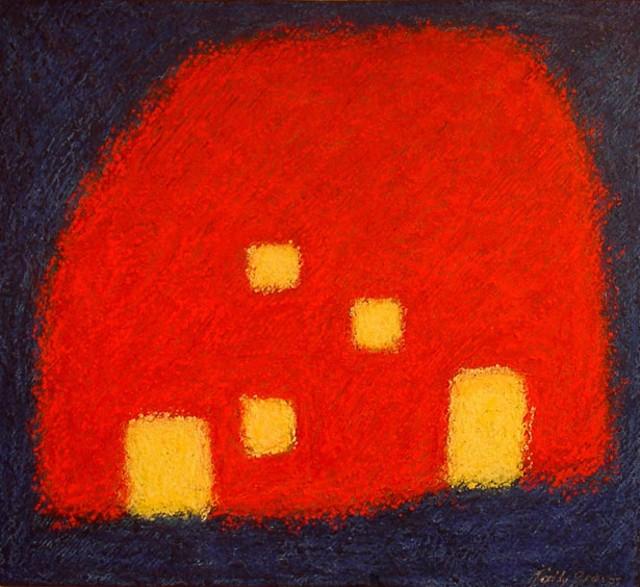 """Orange Barn"" by Tally Groves"