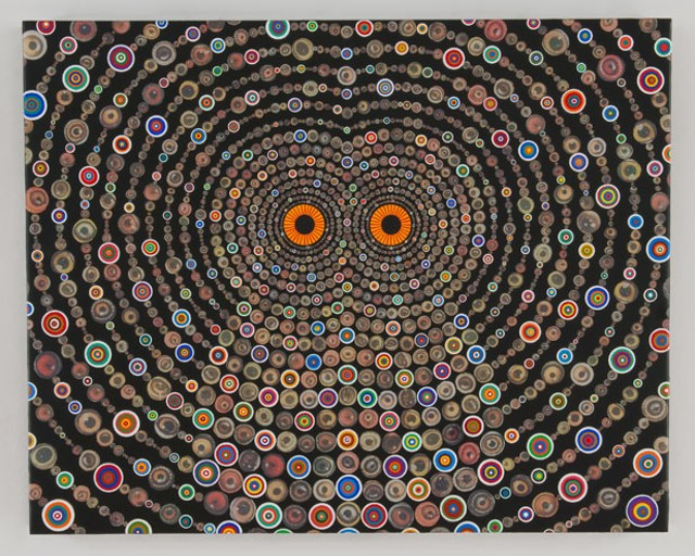"""Owl"" by Fred Tomaselli"