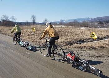 Pack Up Your Gear and Have a Pedal-Powered Snow Day