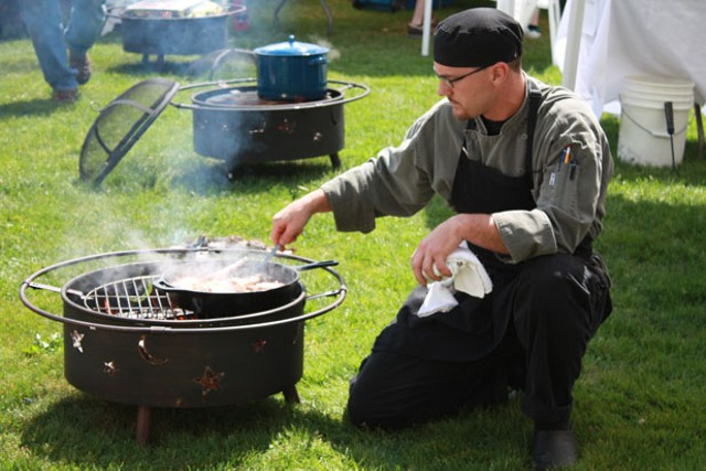 Participants in the 2010 Adirondacks are Cookin' Out event