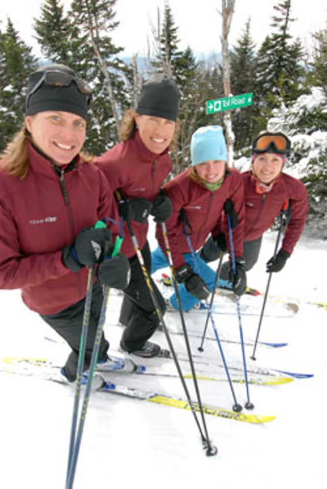 Pascale Savard, Kristina Frame, Erica MacConnell and Marina Knight - JEB WALLACE-BRODEUR