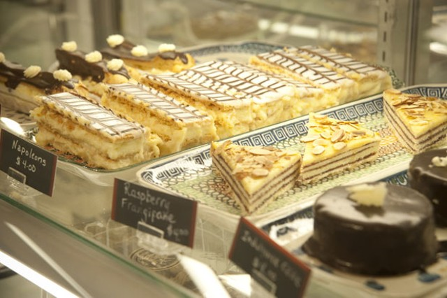 Pastries at King Arthur Flour bakery
