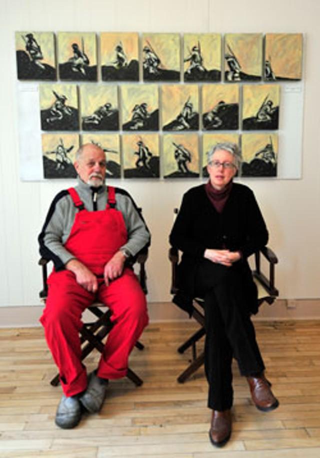 Patrick Texier and Sara Tucker - JEB WALLACE-BRODEUR