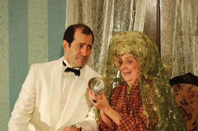 Paul Joseph Bernardo (Charles) and Agnes Cummings (Madame Arcati)