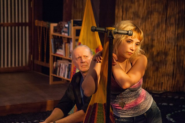 Paul Schnabel (left) and Gianna Kiehl in Slowgirl - COURTESY OF LINDSAY RAYMONDJACK PHOTOGRAPHY