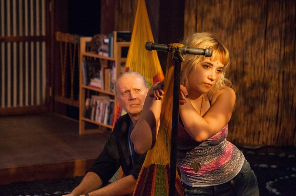 Paul Schnabel (left) and Gianna Kiehl in Slowgirl - COURTESY OF LINDSAY RAYMONDJACK PHOTOGRAPHY