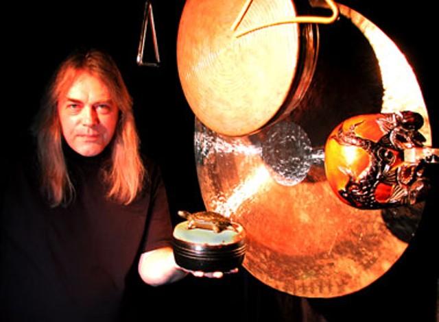 Percussionist Brian Johnson