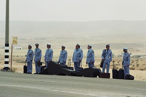 PERFORMANCE ANXIETY  The kindness of strangers proves instrumental when an Arab orchestra finds itself stranded in the Israeli desert.