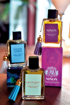 Perfumes from Rebel Intuitive Perfumerie - JEB WALLACE-BRODEUR