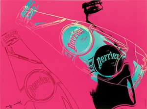 "COURTESY OF MONTREAL MUSEUM OF FINE ARTS - ""Perrier Pink"" by Andy Warhol"
