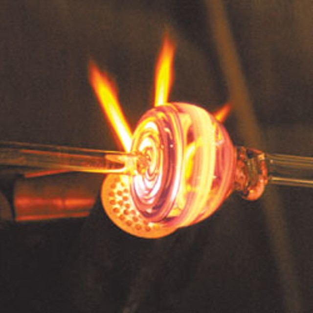 pipe-making at the Bern Gallery