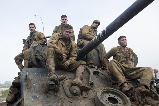 Pitt Crew: Ayer recruits a high-caliber cast for his groundbreaking portrait of life during wartime.