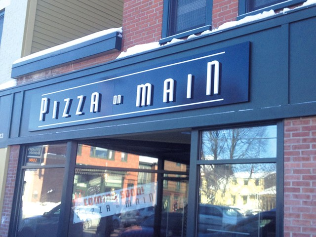 COURTESY OF PIZZA ON MAIN