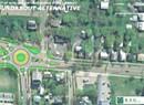 Plans for a Shelburne Road Roundabout Divide Transportation Types