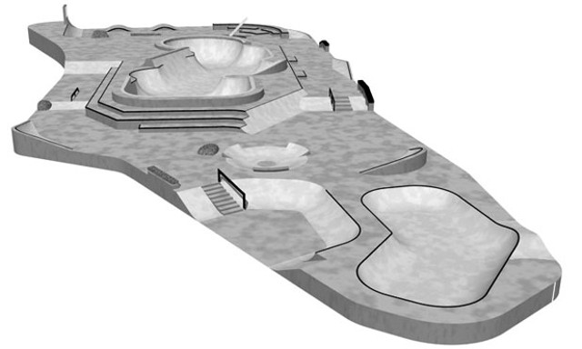 plans for the new Burlington Skatepark