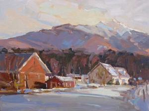 """Pleasant Valley Lamoille County,"" David Lussier"