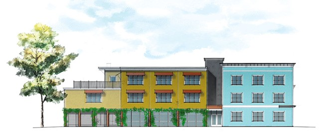 Preliminary rendering of  the project - COURTESY OF DUNCAN WISNIEWSKI ARCHITECTURE