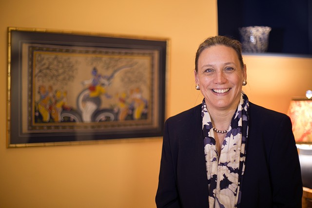 President-elect Laurie Patton will take the helm at Middlebury College on July 1, 2015. - COURTESY MIDDLEBURY COLLEGE
