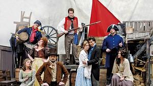 Principal cast of Lyric Theatre Company's Les Misérables