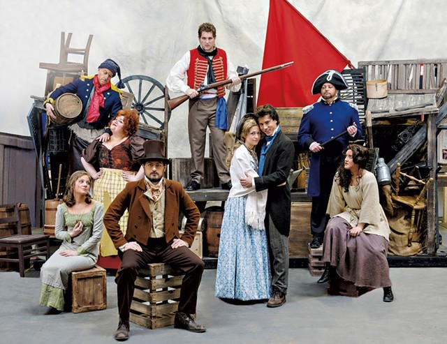 Principal cast of Lyric Theatre Company's Les Misérables - COURTESY OF KAREN PIKE PHOTOGRAPHY