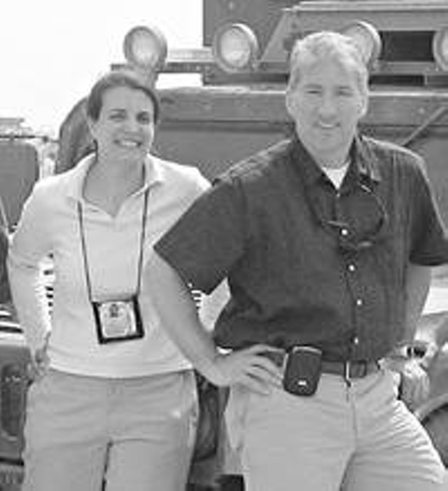 Producer Laura Bernardini and Chief Correspondent John King