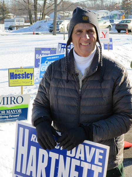 Councilor Dave Hartnett - MATTHEW THORSEN