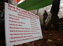 Occupy Lowell Mountain? Despite Court Order, Opponents Camp Near GMP Blasting Zone
