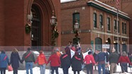 Supporters Rally for Laid-Off Athenaeum Librarians in St. Johnsbury