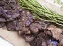 Farmers Market Kitchen: Smashed Purple Potatoes
