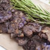 Farmers Market Kitchen: Smashed Purple Potatoes