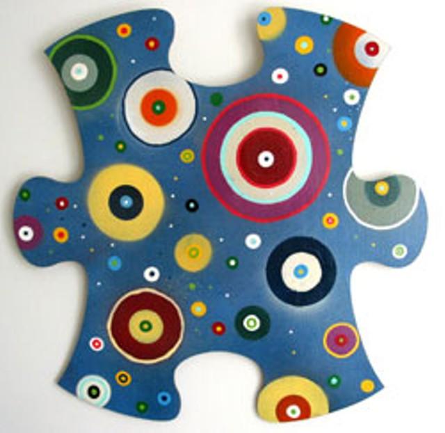 Puzzle Peice by Janet Van Fleet