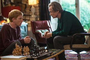 RAD DAD Forget the lovey-dovey stuff: Nighy and Gleeson have by far the best relationship in Curtis' romantic comedy.