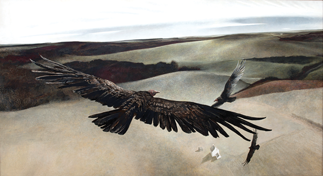 """SOARING""  BY ANDREW WYETH"