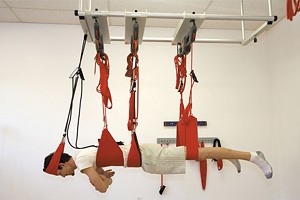 Redcord suspension rigging