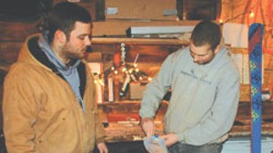 Ryan Folin, left; Harrison Goldberg, right