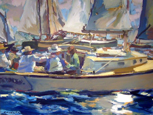 """""""Sailing"""" by Charles Movalli"""