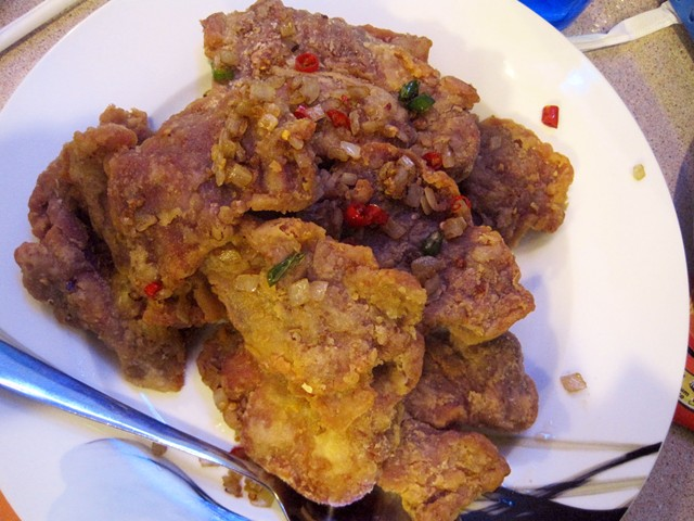 Salt-and-Pepper pork