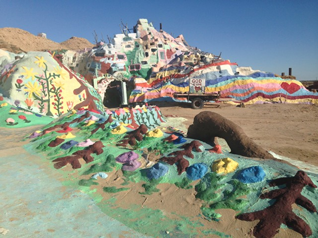 Salvation Mountain - PAULA ROUTLY