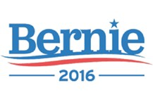 Sen. Bernie Sanders' new campaign logo - SCREENSHOT