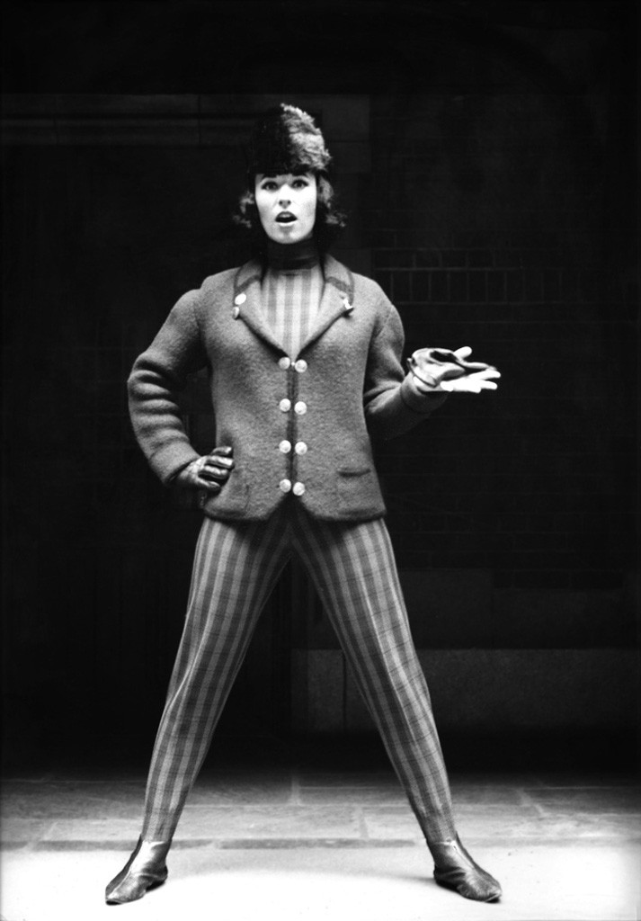 Sandra Heath wearing Bogner, early 1960s - COURTESY OF SANDRA HEATH