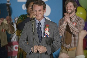 SAY IT LOUD Sean Penn  plays the  country's first out gay  politician.