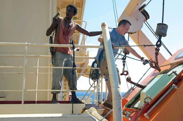 Scene from Captain Phillips