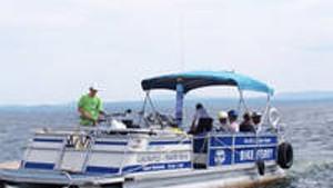 Scene@ South Hero Bike Ferry