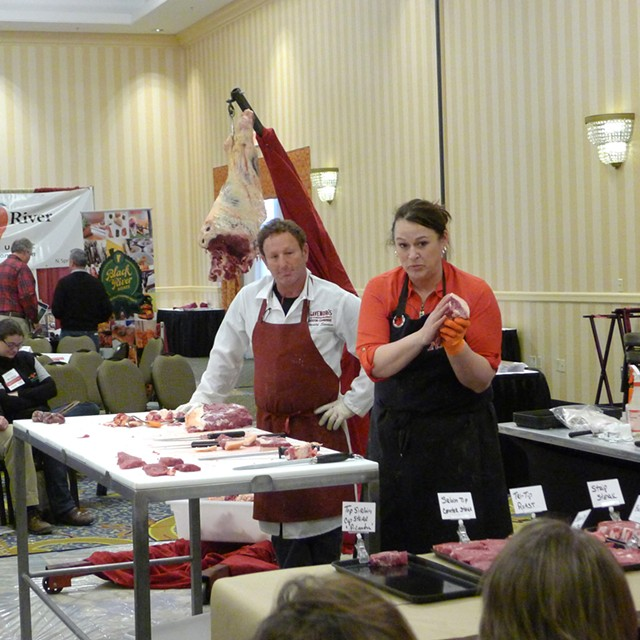 Scenes from the New England Meat Conference - CORIN HIRSCH