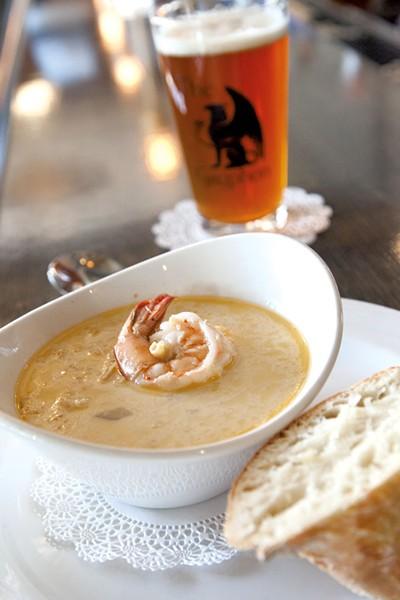 Seafood chowder - MATTHEW THORSEN