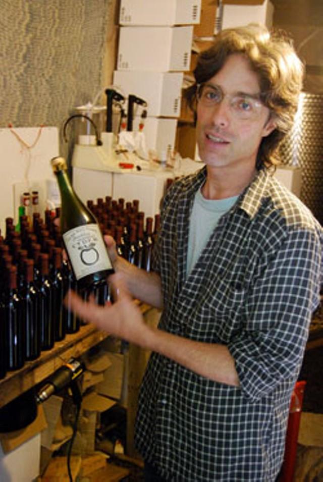 Sebastian Lousada, owner and distiller of Flag Hill Farm