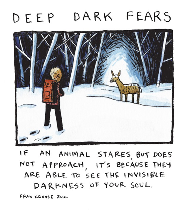 See more of Fran Krause's work at 