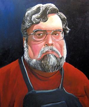 Self-portrait - ROBERT WALDO BRUNELLE JR.